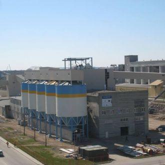 Pašarinių fosfatų cecho statyba