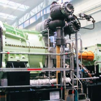 Turbogeneratoriaus TVV-800 statoriaus pristatymas į Ukrainą