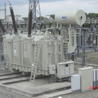 Reconstruction of 330 kV installations at the 330/110/10 kV transformer substation in Kaunas