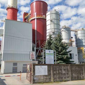 Установка оборудования сероочистки дымовых газов