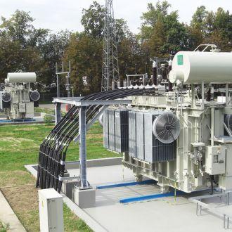 Galios transformatorių keitimas 110/10 kV Šiaurinėje transformatorių pastotėje Vilniuje