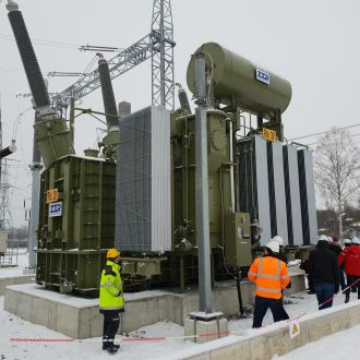 330 kV 120 MVAr variable shunt reactor for Latvia