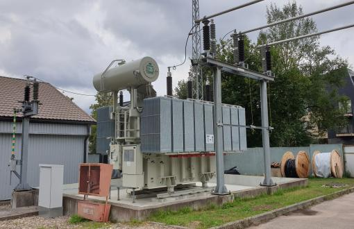Reconstruction of 110/10 kV substation Žvėryno