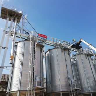 Supply of grain storage equipment for Lithuanian farmers