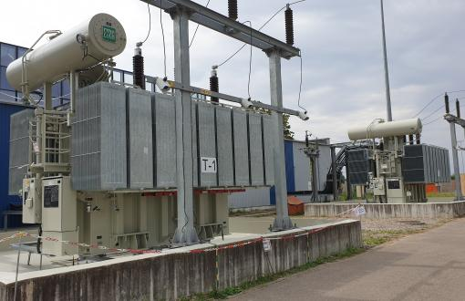 UAB Ekobana successfully completed replacement of power transformers in 110/10 kV Virsuliskes substation and once again proved its professionalism in the reconstruction of the power transformer substation