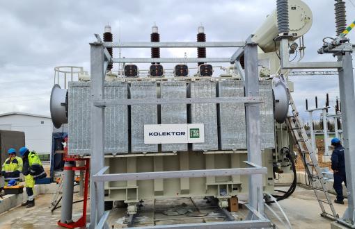 Galios transformatorių tiekimas vėjo jėgainių parkams